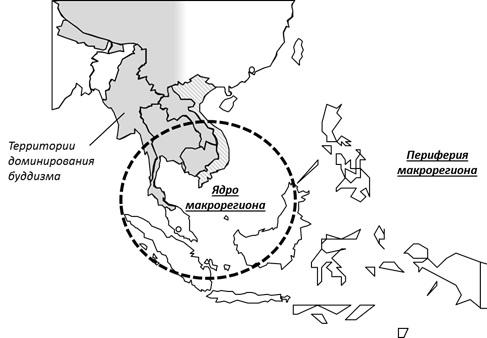 Макрорегион Юго-Восточная Азия