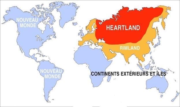 Разделение мира на регионы по Спикмэну